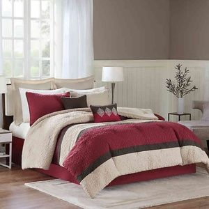 Chester 8-Piece Queen Comforter Set